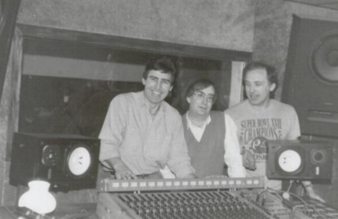 photo of holly records founders